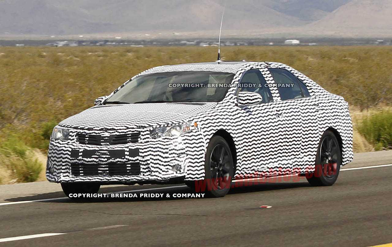 Displaying 14> Images For - 2015 Toyota Camry Spy Shots