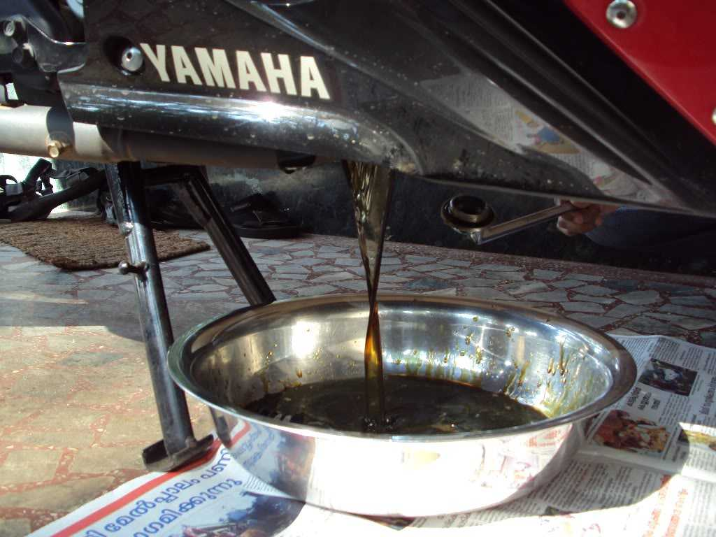 Yamaha R15 Oil Filter Yamaha R15 Engine Oil Change