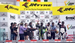 17th JK Tyre Racing championship, Superbike Cup, VW Polocup @Buddh International Circuit, Delhi 1