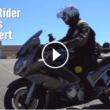 Motorcycle riding and braking tips practice