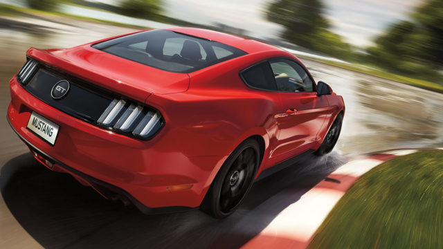 Ford Mustang Back India