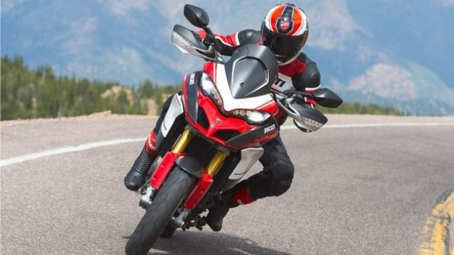 Ducati Multistrada 1200 pikes peak has been launched in India with a price tag of INR 20.06 lakh.