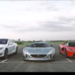 Rimac Concept One vs LaFerrari vs Tesla