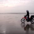 Steph Jeavons takes off solo around the world on a Honda CRF250L motorcycle