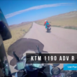 Watch Llewelyn Pavey and Justin Dawes Ride KTM 1190 Adventure R At 103mph (160KMPH) On Dirt