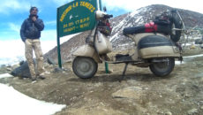 Travel Diary: A Splendid Ride To The Top Of The World On A 2 Stroke Scooter