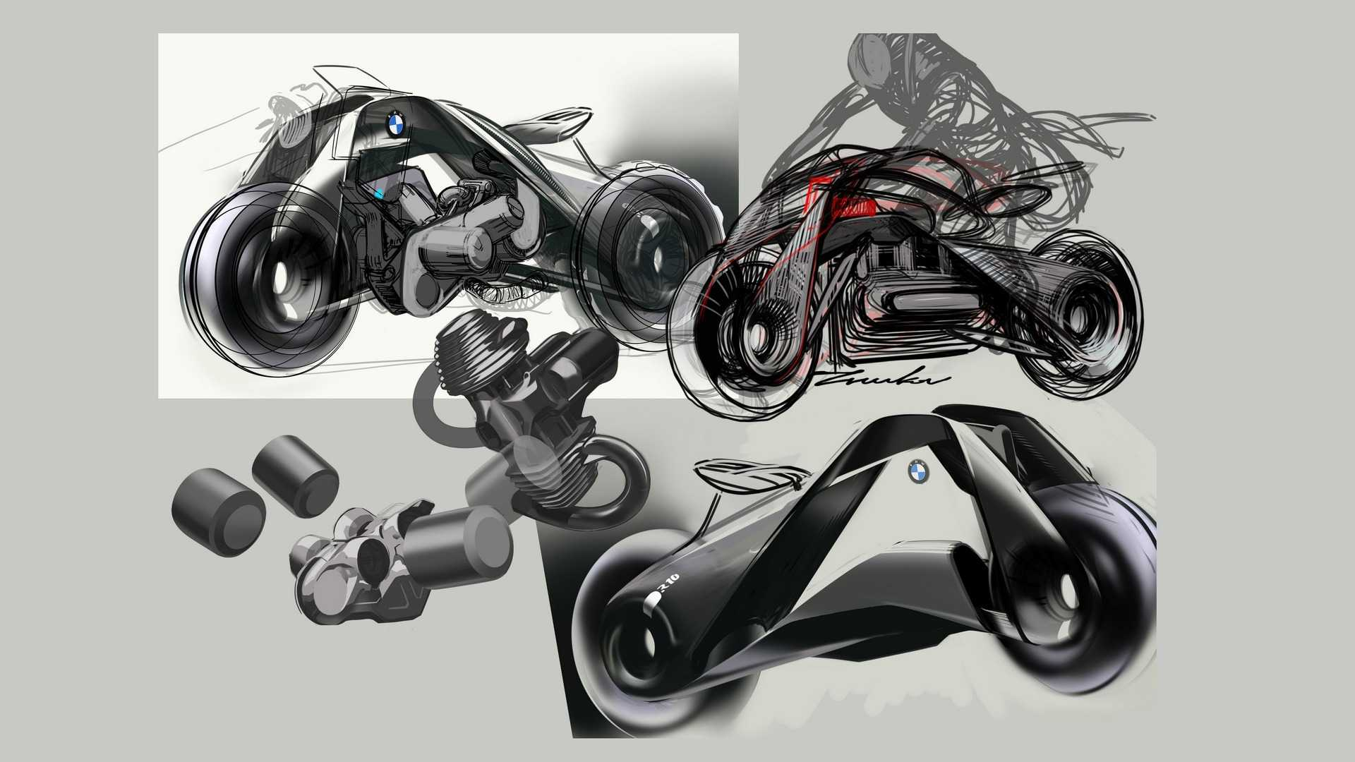 bmw's self-balancing motorcycle of tomorrow | wheels guru
