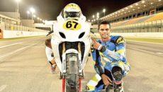 Krishnan Rajini wins race 2 China superbike championship - fastest Indian